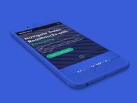 Emissary Website Mobile Design