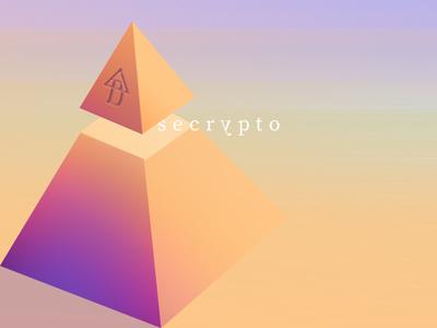 pyramid landscape logo illustration pyramid