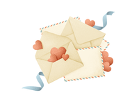 Mail for Valentine's day