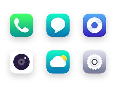 Mobile Phone Icon Design part01