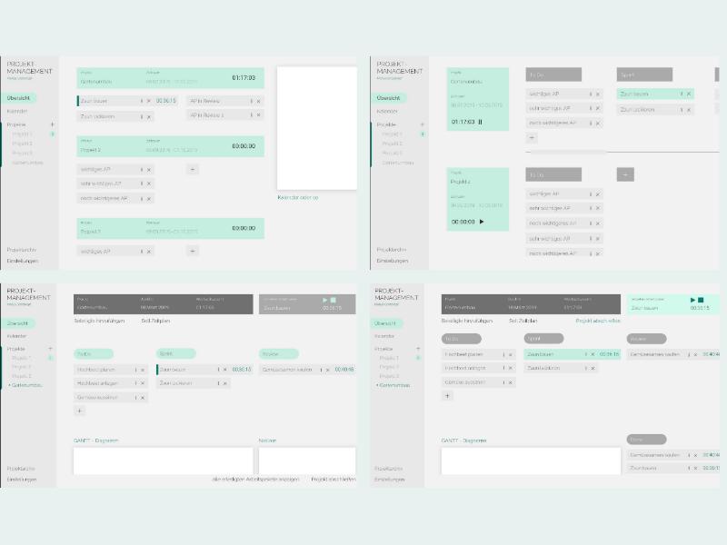 perfect project management ux ui design ux designer ux design mint branding clean minimalism user interface dashboard board adobe xd adobe illustration design ui design uiux ui ux interface