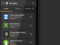 Amazon Appstore My Apps