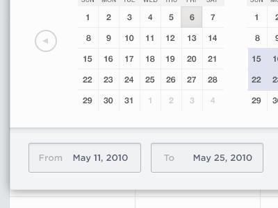 Textbox Entry text field calendar ui vacation app web minimalist simple