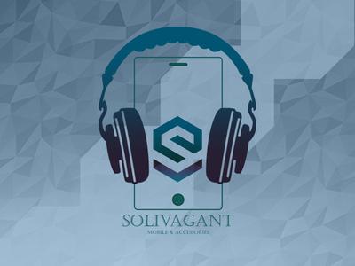 Solivagant# LOGO for Mobile shop
