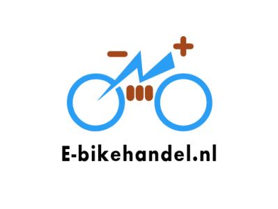 E-Bikehandle Logo logo flat illustration vector