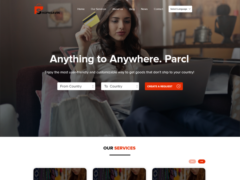 Shopping Website website web mockup layout typography ui flat design