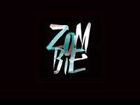 Zombie & other brush lettering