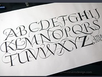 Alphabet for Hermann Zapf Tribute