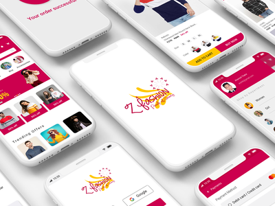 Z Fashion e-commerce app
