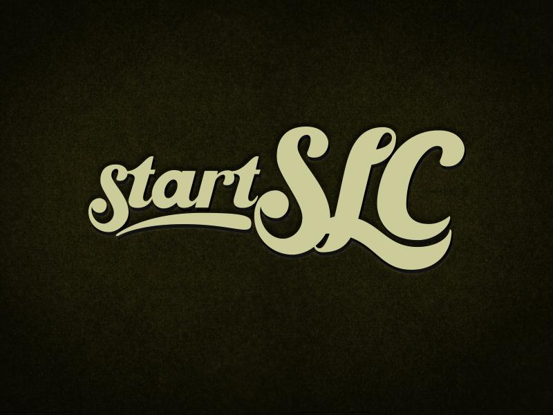 StartSLC Festival Logo logo mark identity vintage handlettering customtype