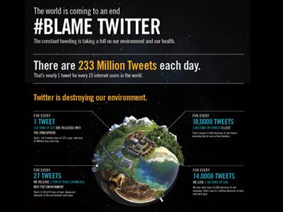 Blametwitter infographic vector design twitter