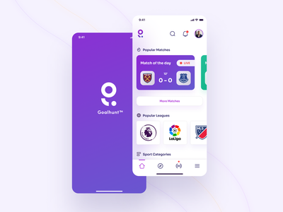 Sport Mobile App UI productdesign interface uxdesigner uidesign app design uiinspiration uitrends minimal ios sports design mobile ui app ux uxui ui