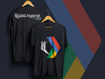 GDG Algiers T-Shirt | old logo