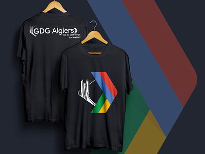 GDG Algiers T-Shirt | old logo printed gdg tshirt algiers alger