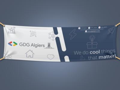 GDG Algiers Banner