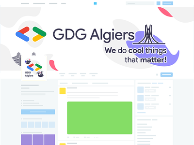 Social Media Identity algiers identity design identity branding simple social media