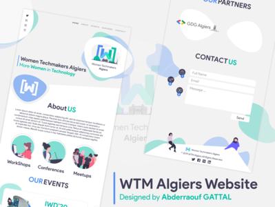 WTM Algiers Website
