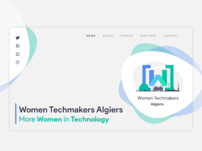 WTM Algiers Website landing page