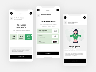 COVID App - Payment transfer wire payment form payment method success thanks credit card donation help app design donate purchase payment covid19 covid