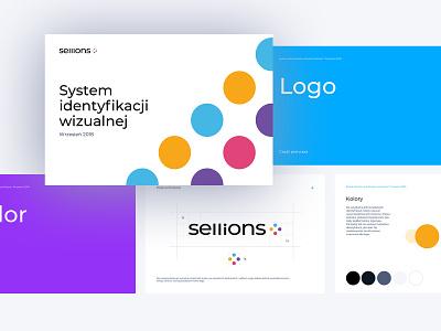 Sellions Rebranding visual  identity motivation task management seller logotype startup colorfull logo rebranding branding ci idendity styleguide brandbook manual
