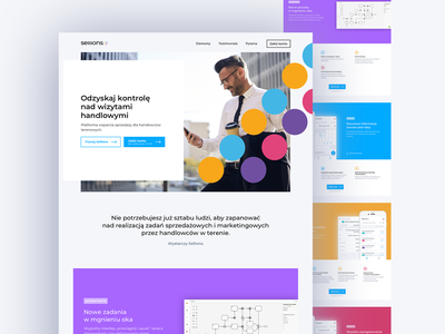 Sellions Website sellions corporate story rebranding startup webdesign branding management