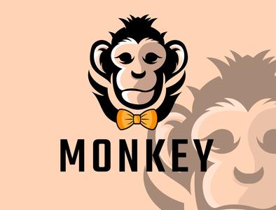 monkey logos logoesport branding vector modre minimal logo design design animallogo logos logo logodesign monkey island monkey king monkey logo