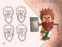Ax warrior, character creation