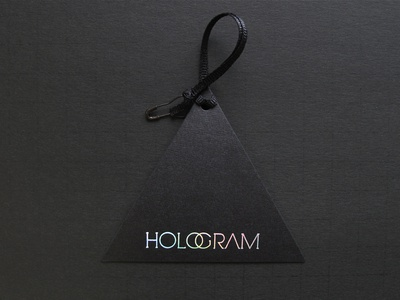 Hologram Hangtag
