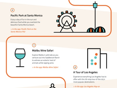 A Day In La With Whym graphicdesign illustration whym infographic