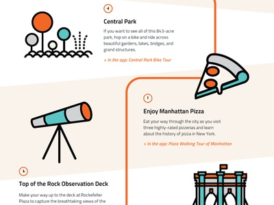 A Day In New York With Whym graphicdesign illustration whym infographic