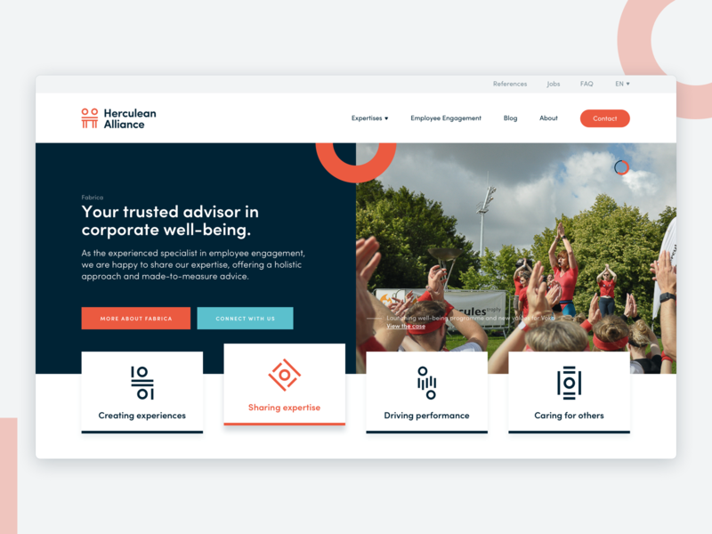 Employee Engagement Platform employee engagement shapes homepage design website
