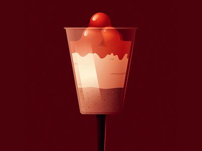 Sugar Overload vector art food cheescake dessert vector design illustration
