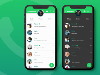 WhatsApp Redesigned