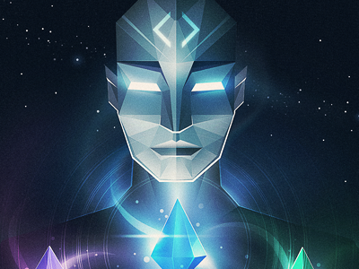 The Master webalys space crystals