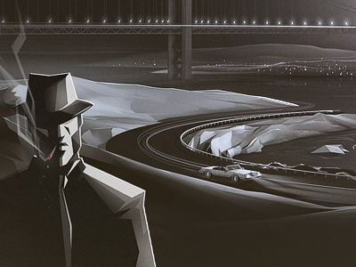 More Heat car detective mystery intrigue bridge