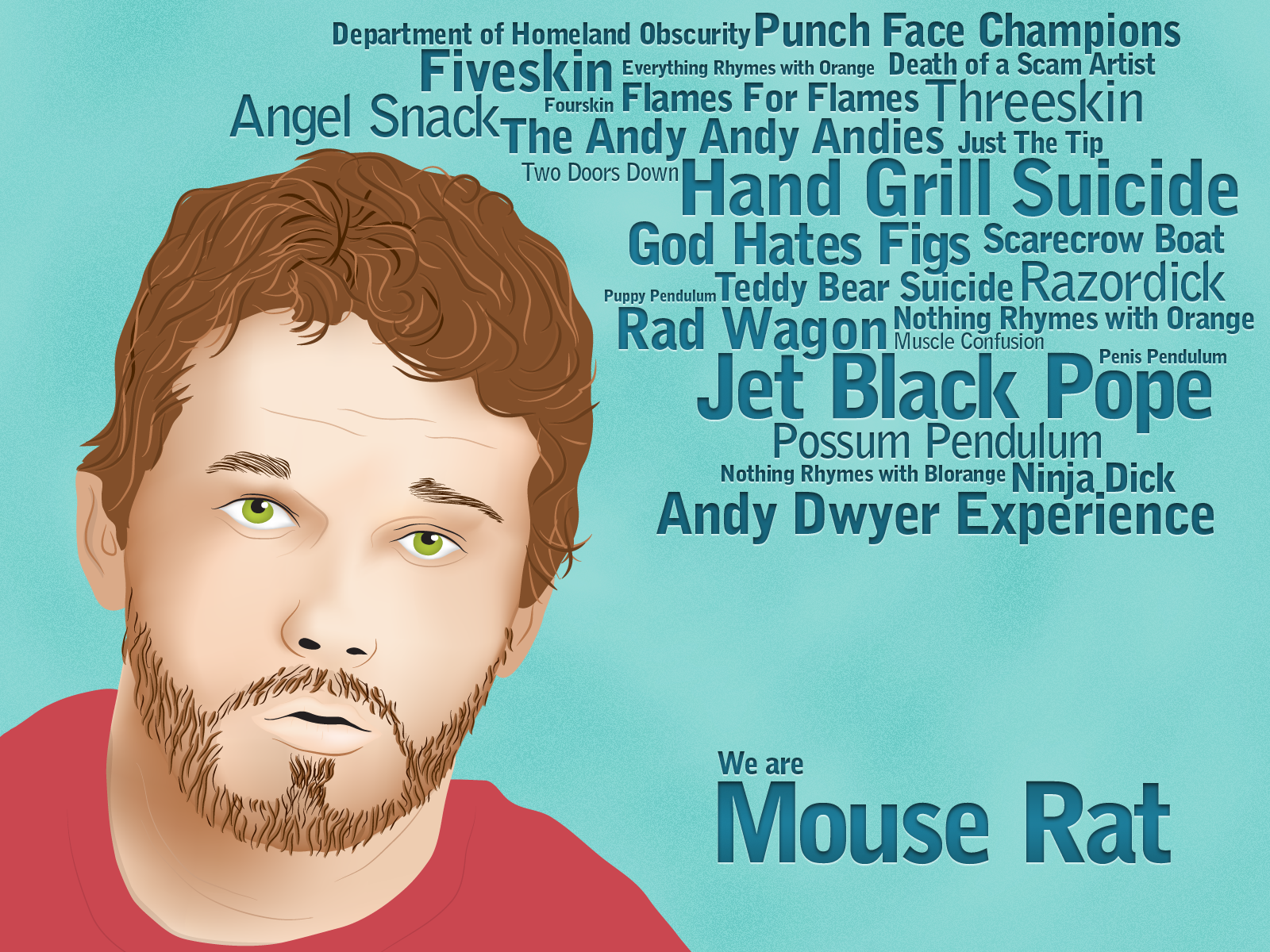 Dribbble Andy Dwyer Bandspng By David Lopez