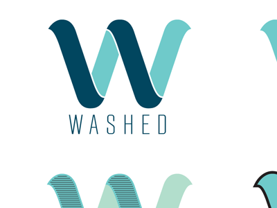 Washed Logos By David Lopez On Dribbble