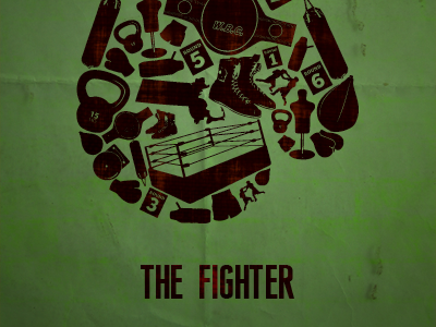 The Fighter Poster  the fighter movie poster 2010 vector boxing