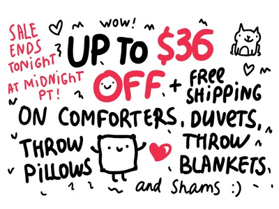 UP to $36 off on homedecor