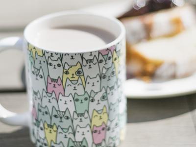 Cats Family Mug