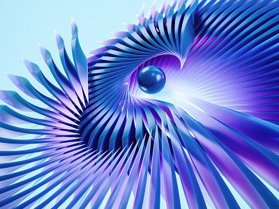 phoenix. shapes lines illustration design render abstract colorful 3dart cgi 3d digitalart