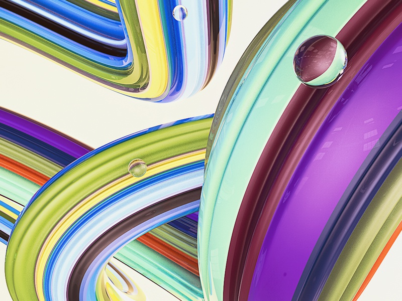 curves. geometry reflection illustration black design 3d artist 3d art triangles lines sphere circles texture abstract colorful render 3dart shapes digitalart cgi 3d