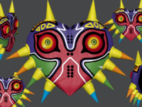 Majora's Mask 3D Model