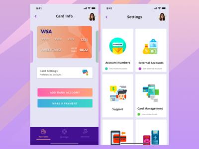 Payment Application Concept UI