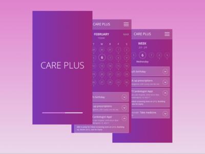 Care Plus Application Prototype