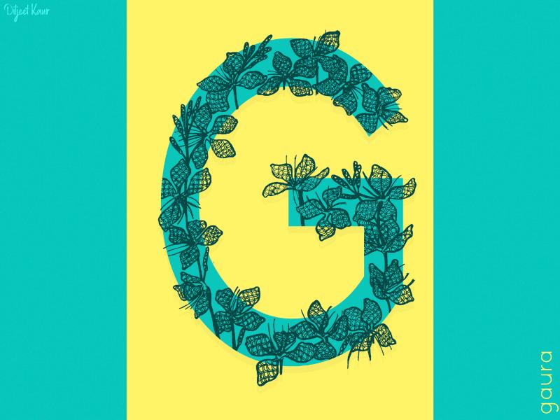 The Letter Series: G drawing illustration alphabet lettering letter typography doodle art design
