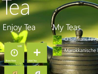 Tea for Windows Phone 7