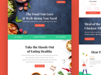 Food Delivery Landing Page