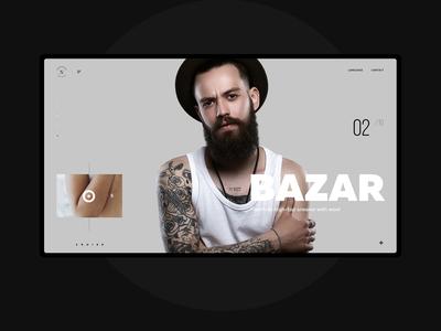 BAZAR online hipsters sketch tattoo store hipster trend minimal black