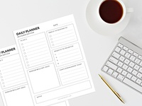Free Daily To Do Just for Designers Printable